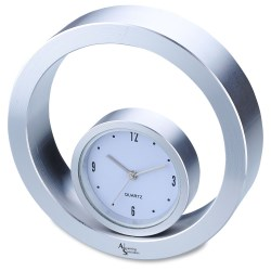 View a larger, more detailed picture of the Rolling Metal Desk Clock