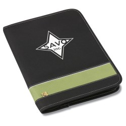 View a larger, more detailed picture of the Owl Deluxe Padfolio - Closeout