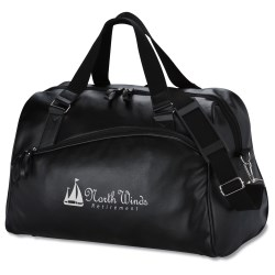 View a larger, more detailed picture of the Soft Lichee Travel Duffel - Closeout