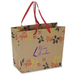 View a larger, more detailed picture of the Fashion Matte Eurotote - Asian Floral