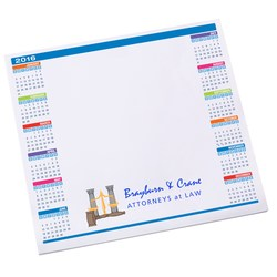 View a larger, more detailed picture of the Notepad Mouse Pad - Calendar