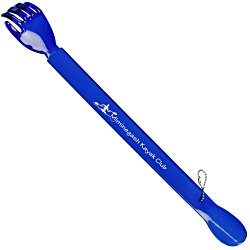 View a larger, more detailed picture of the Back Scratcher w Shoe Horn - Translucent