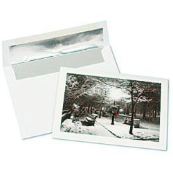 View a larger, more detailed picture of the Winter Park Greeting Card