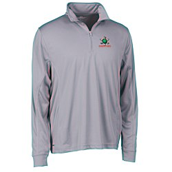 View a larger, more detailed picture of the Vansport Mesh 1 4 Zip Tech Pullover - Men s