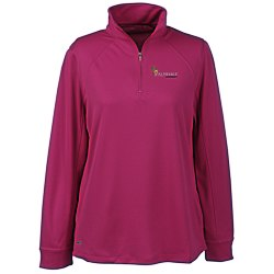 View a larger, more detailed picture of the Vansport Mesh 1 4 Zip Tech Pullover - Ladies