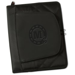View a larger, more detailed picture of the elleven Jr Zippered Padfolio