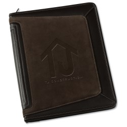 View a larger, more detailed picture of the Tuscon Zippered Padfolio