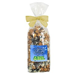View a larger, more detailed picture of the Gourmet Popcorn Bow Bag - Cookies & Cream