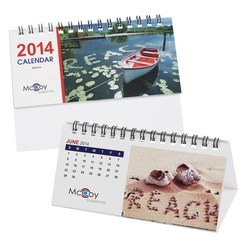 View a larger, more detailed picture of the Personalized Desk Calendar