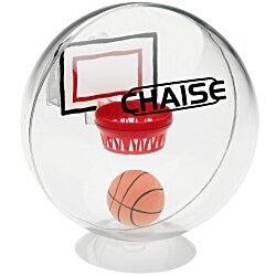 View a larger, more detailed picture of the Desktop Basketball Globe Game