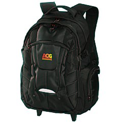 View a larger, more detailed picture of the Urban Rolling Laptop Backpack