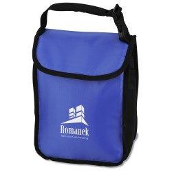 View a larger, more detailed picture of the Click It Handle Lunch Sack - Closeout