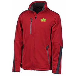 View a larger, more detailed picture of the North End Sport Bonded Fleece Jacket - Men s