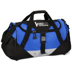 View a larger, more detailed picture of the Buckle Top Duffel - Closeout
