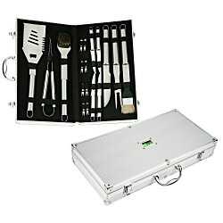 View a larger, more detailed picture of the 18-pc BBQ Set in Case