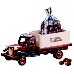View a larger, more detailed picture of the 1950 s Flat Bed Truck w Chocolate Almonds