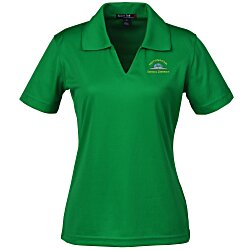 View a larger, more detailed picture of the Dri-Mesh V-Neck Sport Shirt - Ladies