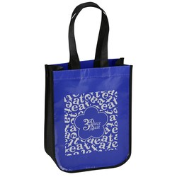 View a larger, more detailed picture of the Eat Lunch Tote Bag - Flower