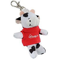 View a larger, more detailed picture of the Wild Bunch Key Tag - Cow