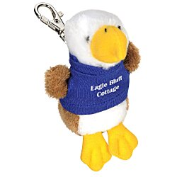 View a larger, more detailed picture of the Wild Bunch Key Tag - Eagle