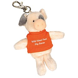 View a larger, more detailed picture of the Wild Bunch Key Tag - Pig
