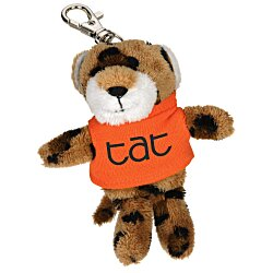 View a larger, more detailed picture of the Wild Bunch Key Tag - Leopard