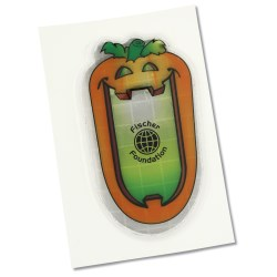 View a larger, more detailed picture of the Reflective Sticker - Talking Pumpkin