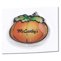 View a larger, more detailed picture of the Reflective Sticker - Perky Pumpkin