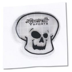 View a larger, more detailed picture of the Reflective Sticker - Skull
