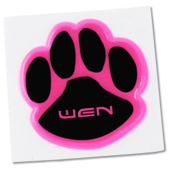 View a larger, more detailed picture of the Reflective Sticker - Paw - 2 Dia