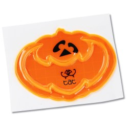 View a larger, more detailed picture of the Reflective Sticker - Bat-Kin