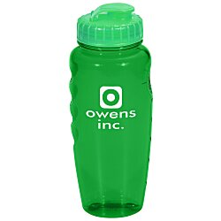 View a larger, more detailed picture of the Poly-Cool Sport Bottle - 30 oz - 24 hr