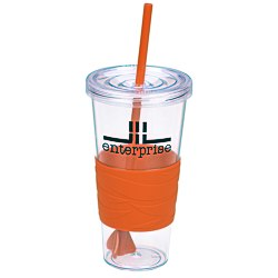 View a larger, more detailed picture of the Revolution Tumbler w Straw - 24 oz - 24 hr