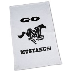 View a larger, more detailed picture of the Rally Towel - White