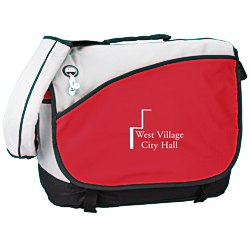 View a larger, more detailed picture of the Freestyle Laptop Messenger Bag - 24 hr