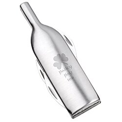 View a larger, more detailed picture of the Spirit Wine Bottle Shaped Opener - 24 hr