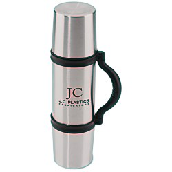 View a larger, more detailed picture of the Zippo 3-in-1 Thermo-Flask - 24 oz - 24 hr
