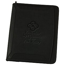 View a larger, more detailed picture of the Case Logic Zippered Padfolio - 24 hr