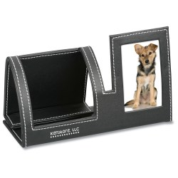 View a larger, more detailed picture of the Cell Phone Stand w Picture Frame - 24 hr