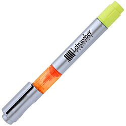 View a larger, more detailed picture of the Triple Threat Pen Highlighter