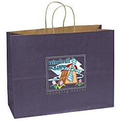 View a larger, more detailed picture of the Matte Shopping Bag 12 x 16 - Full Color