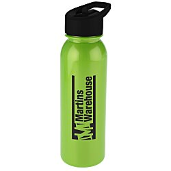 View a larger, more detailed picture of the ShimmerZ Outdoor Bottle with Flip Straw Lid - 24 oz