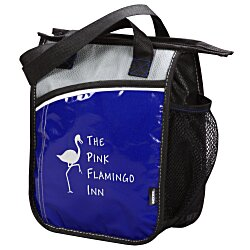 View a larger, more detailed picture of the KOOZIE&reg Upright Laminated Lunch Cooler
