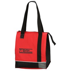 View a larger, more detailed picture of the KOOZIE&reg Tri-Tone Insulated Grocery Tote