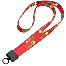 View a larger, more detailed picture of the Dye-Sublimated Stretchy Lanyard - 3 4 - 34