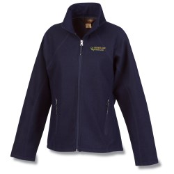 View a larger, more detailed picture of the Providence Wool-Blend Bonded Fleece Jacket - Ladies
