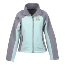 View a larger, more detailed picture of the Rosemont Soft Shell Jacket - Ladies 