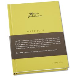 View a larger, more detailed picture of the Quotation Journal - Gratitude