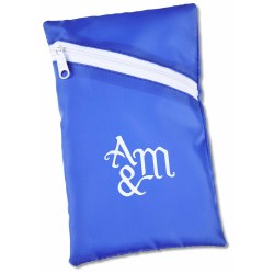 View a larger, more detailed picture of the Angle Zip Pouch - 6-1 2 x 4