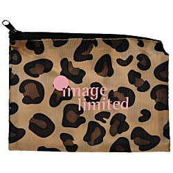 View a larger, more detailed picture of the Fashion Pouch - Leopard
